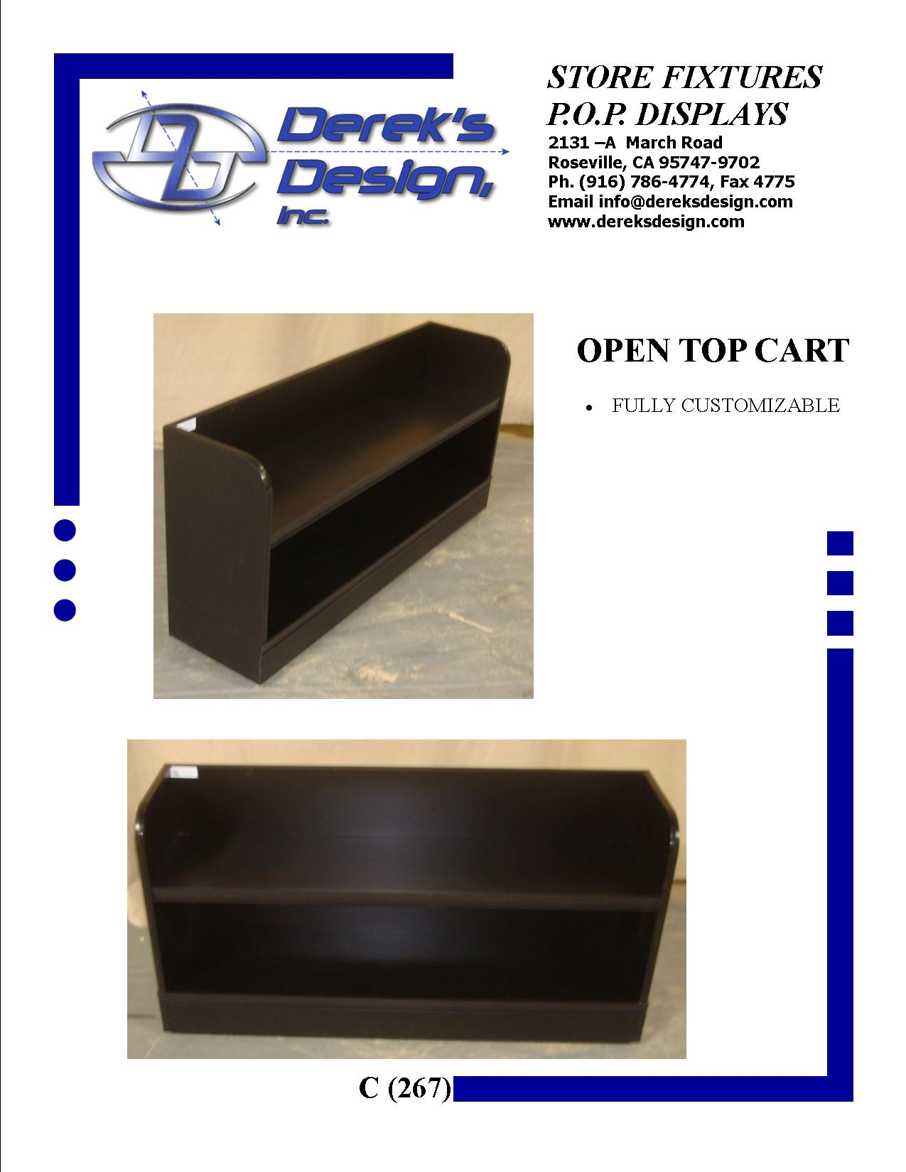 "<A HREF=""MAILTO:ORDERS@DEREKSDESIGN.COM?SUBJECT=C%20(267)&BODY=http://www.dereksdesign.com/gallery/carts-bunkers/c-267-open-top/"">CLICK HERE FOR INQUIRY </A>"