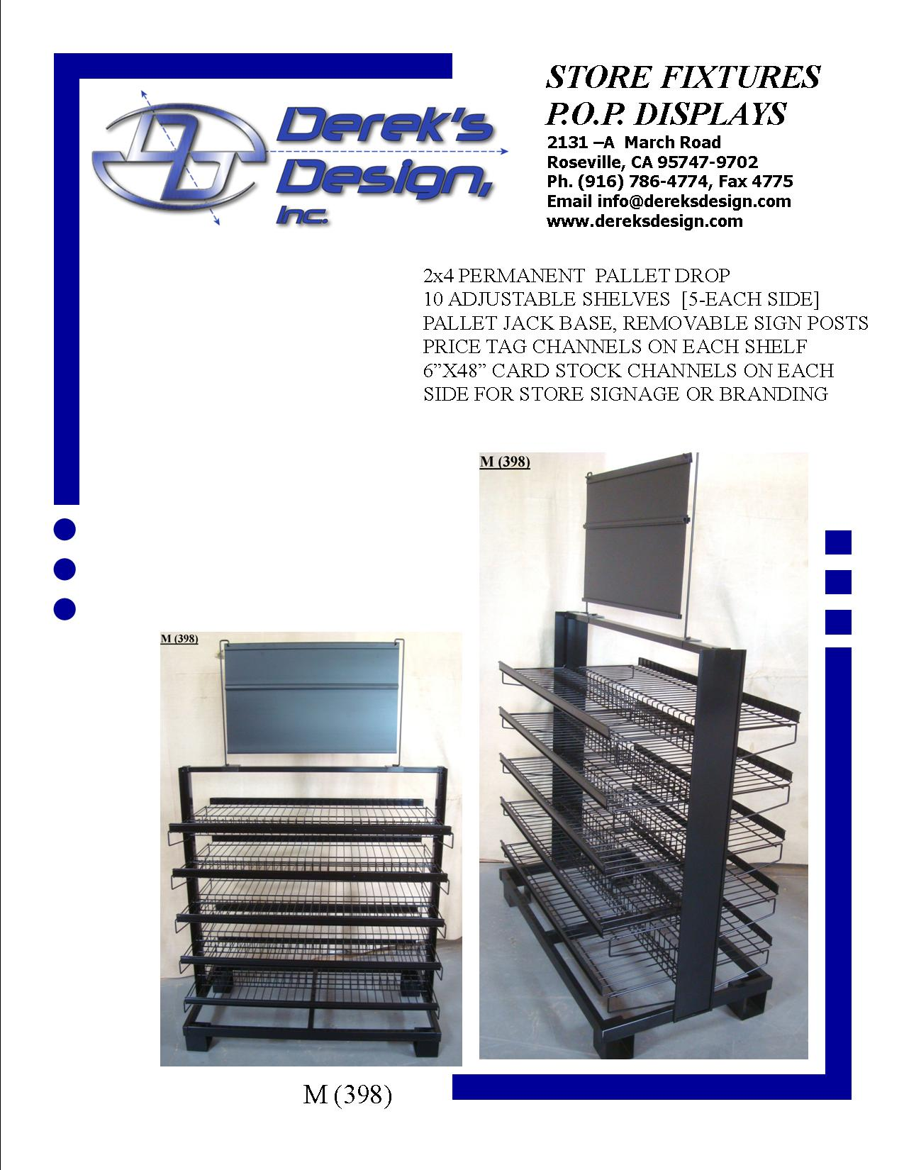 """<A HREF=""""MAILTO:ORDERS@DEREKSDESIGN.COM?SUBJECT=M%20(398)&BODY=http://www.dereksdesign.com/gallery/metal-and-wire-displays/m-398blank/"""">CLICK HERE FOR INQUIRY </A>"""